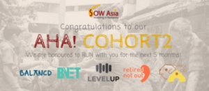 Joined SOW Asia accelerator – AHA! Cohort 2