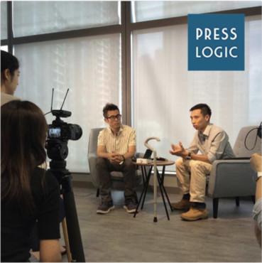 PressLogic 採訪 Interviewed by PressLogic